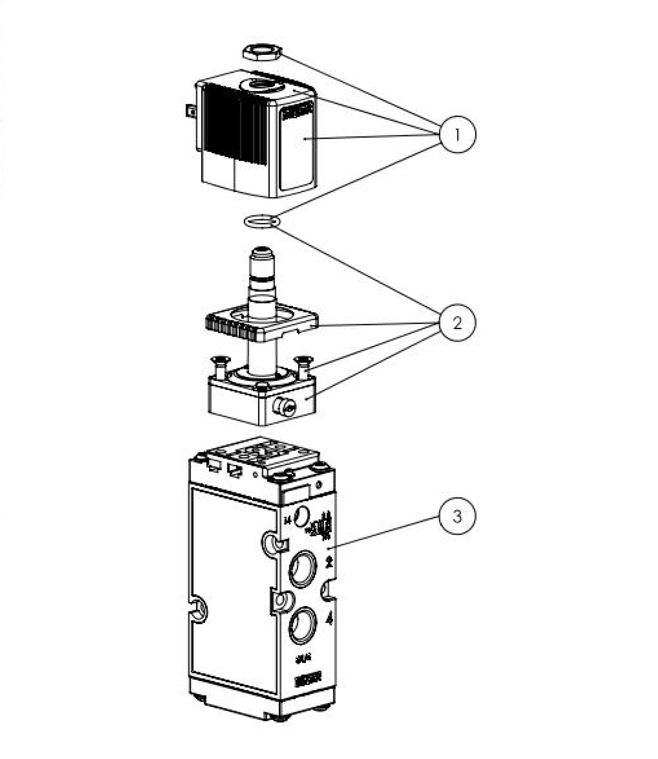 schema electrique electrovanne